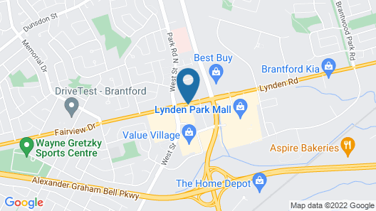 Days Inn by Wyndham Brantford Map