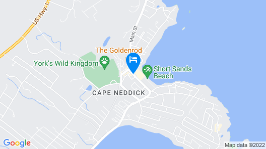 Sands by the Sea Motel Map
