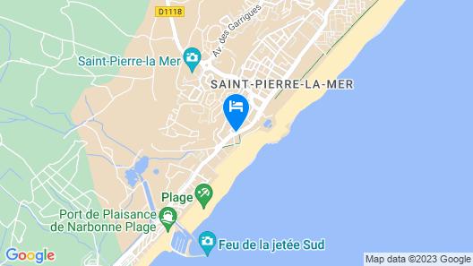 Adonis Saint Pierre la Mer By Olydea Map