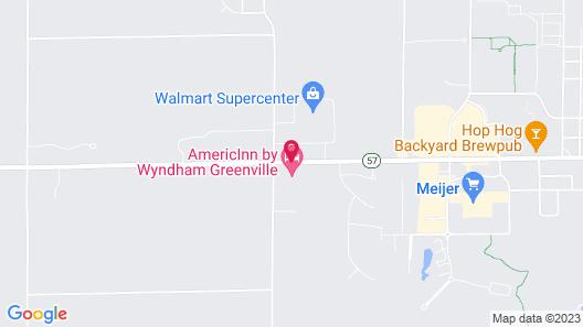 AmericInn by Wyndham Greenville Map