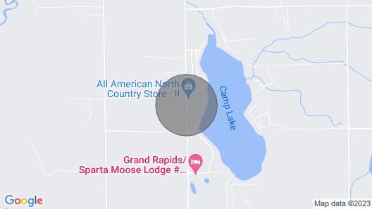 Cozy Country Getaway Map
