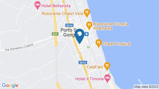 B&B Borgo Marinaro Map