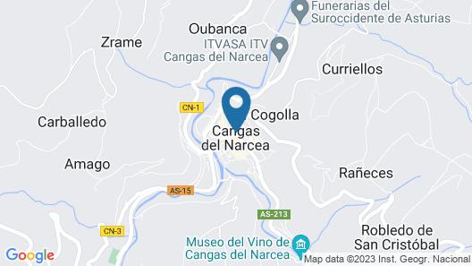 Hotel Restaurante El Molinon Map