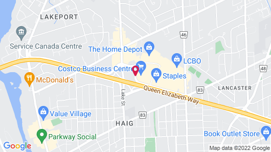 Best Western St. Catharines Hotel & Conference Centre Map