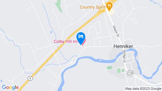 Colby Hill Inn Map