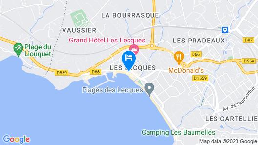 Hôtel Chanteplage Map