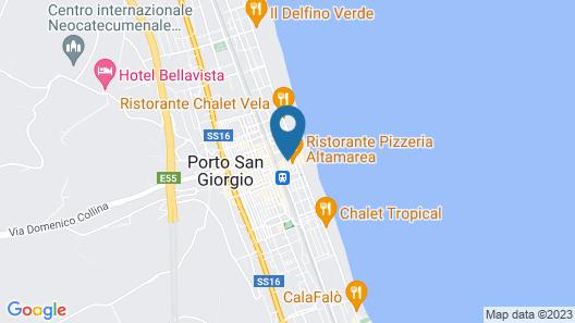 B & B Perfume do Mar Map