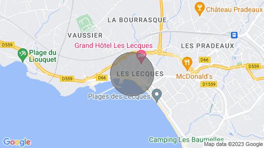 Apartment Les Mimosas in Saint Cyr sur mer Les Lecques - 4 Persons, 2 Bedrooms Map