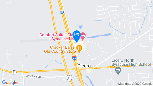 Holiday Inn Express Hotel & Suites Syracuse North - Cicero Map