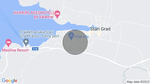 Villa Stone- Sal Mare Map