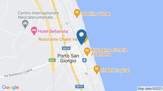 Hotel Nettuno Map