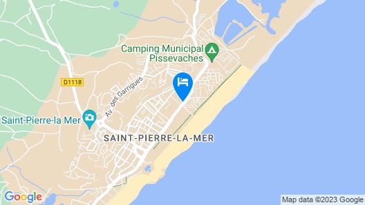 Les Girelles - Vacances ULVF Map