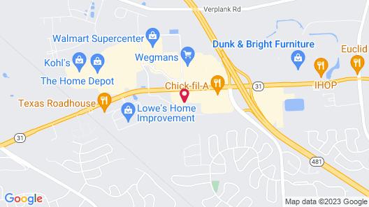 Hampton Inn Syracuse Clay Map