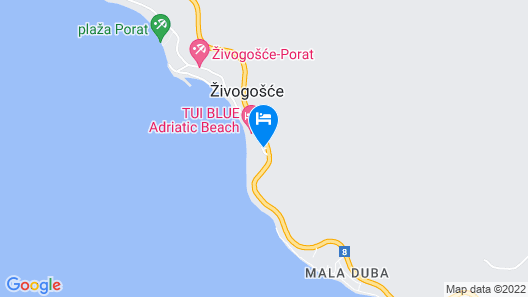 TUI Blue Adriatic Beach - Adult Only  Map