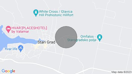 Vacation Home Marijo in Hvar/stari Grad - 4 Persons, 1 Bedrooms Map
