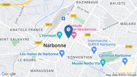 Suite Romantique Map