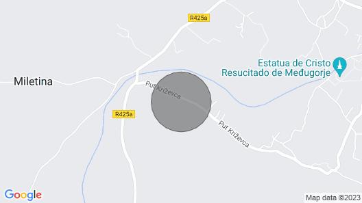 Villa Vand  Paradiso Map