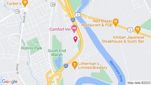 Best Western Concord Inn & Suites Map