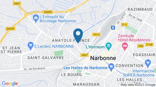 La Case Créole Map