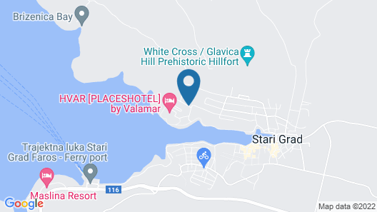 Trim Sunny Apartments by Valamar Map