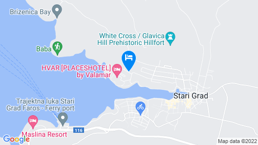 Helios Sunny Apartments by Valamar Map