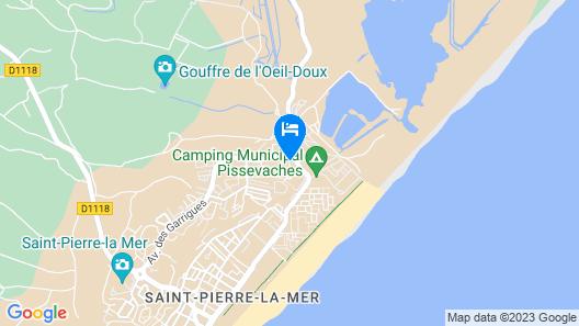 Village Club Miléade Saint-Pierre La Mer Map