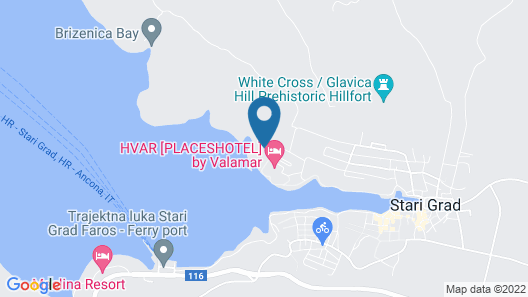 Arkada Sunny Hotel by Valamar Map
