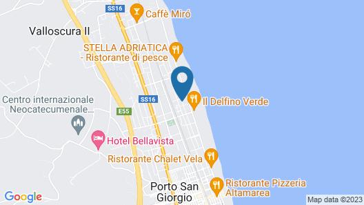 La Pinetina B&B Map