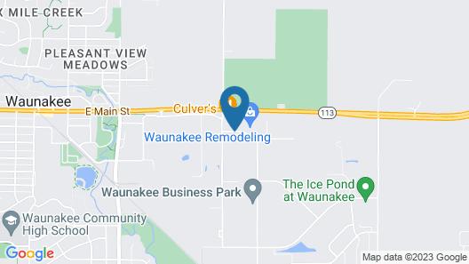 Baymont by Wyndham Waunakee Map