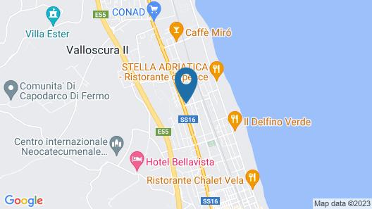 Albergo La Terrazza Map