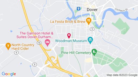 The Silver Fountain Inn Map