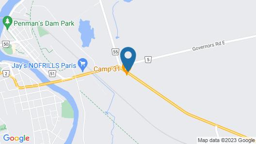 Davidson Motel Map