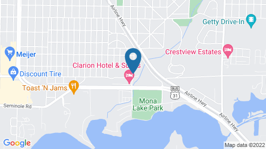 Travelodge by Wyndham Muskegon Map