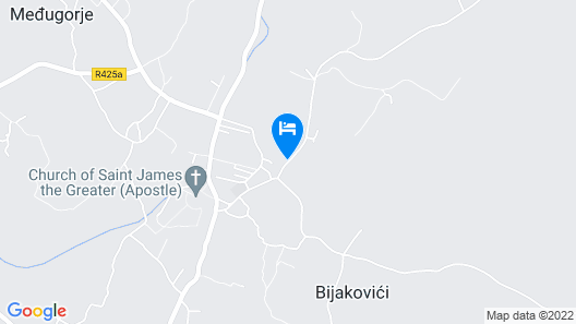 Medjugorje Hotel & Spa Map
