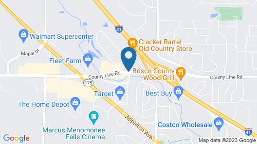 Super 8 by Wyndham Germantown/Milwaukee Map