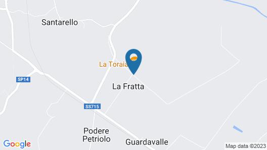 Tenuta la Fratta Map