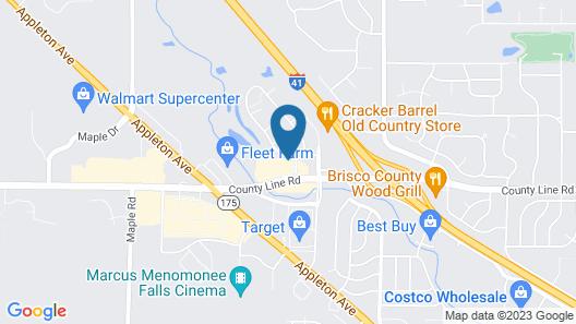 Holiday Inn Express Germantown - NW Milwaukee, an IHG Hotel Map