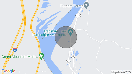 Farmhouse on the Connecticut River Map