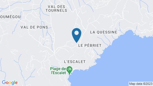 Hotel Clos Des Vignes Map