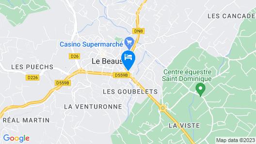 Hôtel Le Relais de La Calèche Map