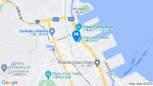 UNWIND HOTEL & BAR OTARU Map