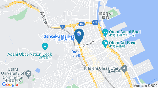 Dormy Inn Premium Otaru Natural Hot Spring Map