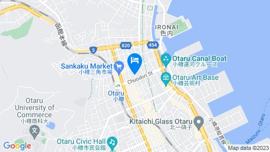 OTARU GREEN HOTEL Map