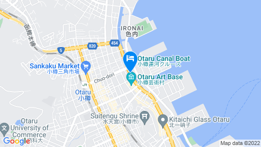 Hotel Sonia Otaru Map