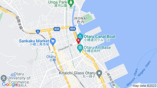 Hotel Nord Otaru Map