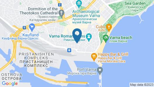 City Boutique Inn Map