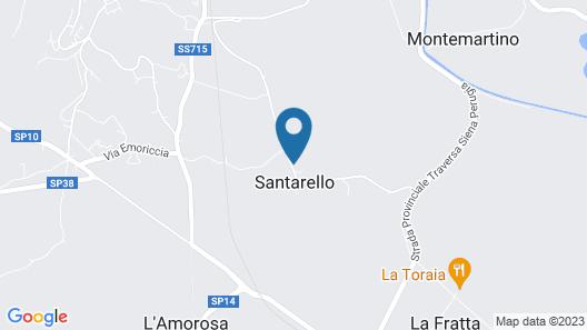 Borgo Terrosi Map