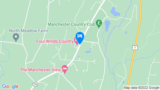 Four Winds Country Motel Map