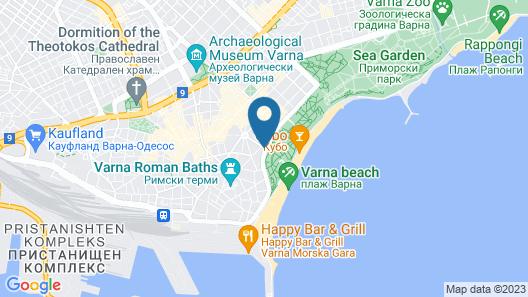 Hotel mOdus Map