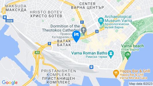 Varna Boutique Hotel Rose Map